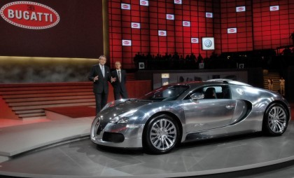 "Bugatti Veyron EB 16.4 ""Pur Sang"" - Presentacion en Frankfurt"