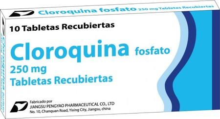 Cloroquina Fosfato 250 Mg