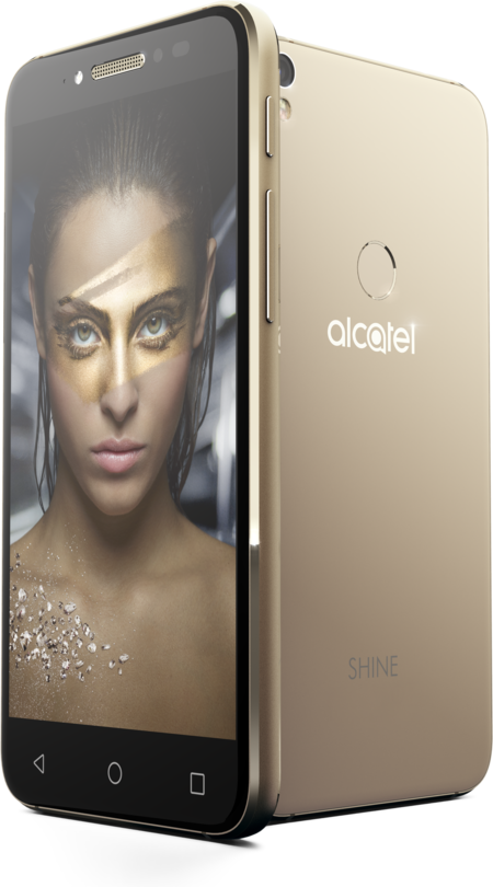 Alcatel Shine Lite Gold Pos Kv 03 Woman