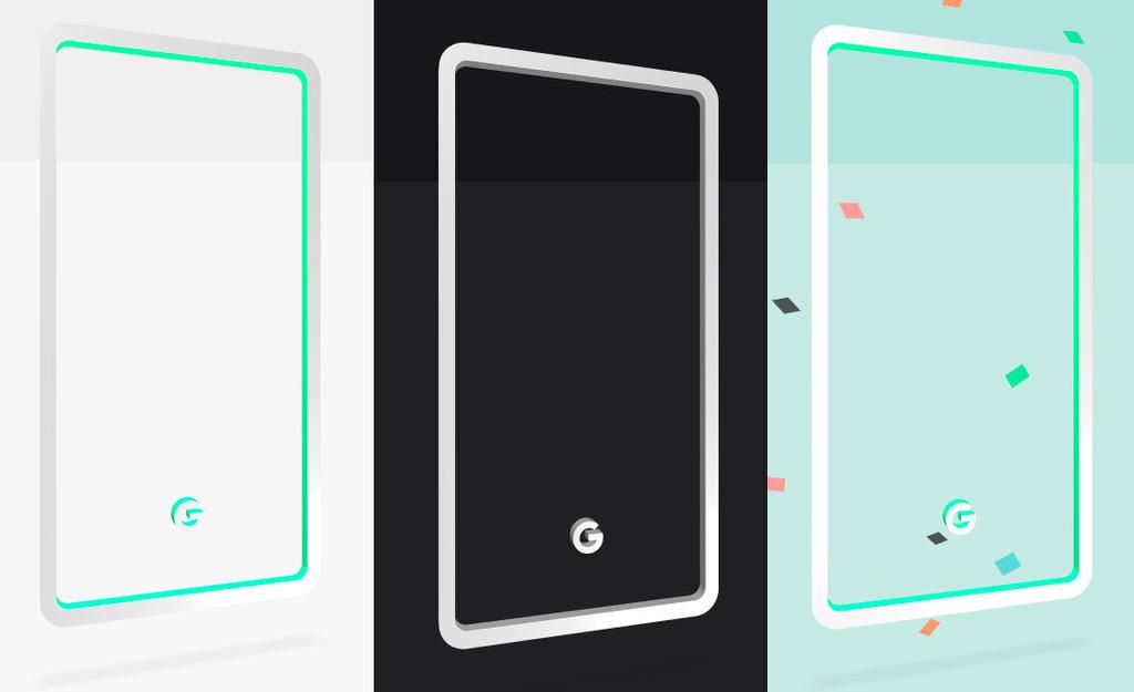 Google da pistas sobre los probables colores de los Pixel tres