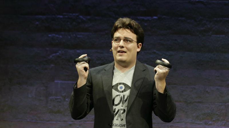 Palmer Luckey, co-fundador de Oculus: