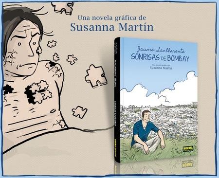Sonrisas de Bombay, el cómic de Susanna Martín cuenta la emocionante historia de Jaume Sallorente