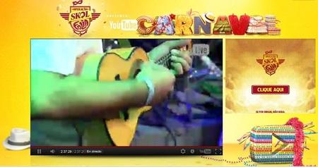 Brasil: You Tube y la posibilidad de seguir el Carnaval de Bahía