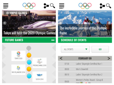 Juegos Olimpicos App Oficial
