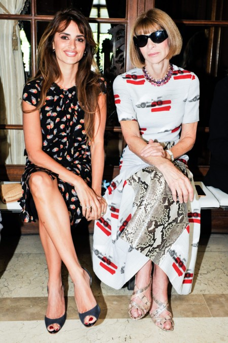 Penélope Cruz y Anna Wintour