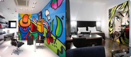 Pintura mural para interiores