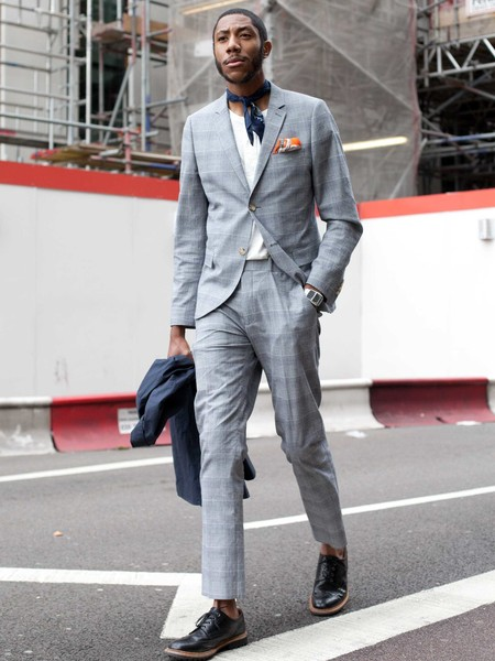 Panuelo Bandana Trendencias Hombre Street Style De La Semana 07