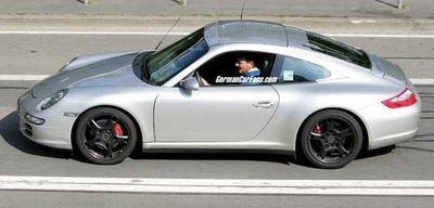 Fotos espía del Porsche 911 Targa