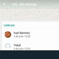 Cómo saber a qué hora y quién ha leído los mensajes en un grupo de WhatsApp