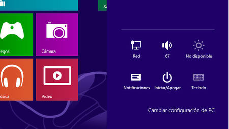 Configuración del sistema en Windows 8