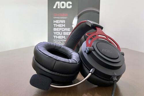 Análisis de los AOC GH300, unos auriculares que sorprenden primero por su calidad de sonido y después por su precio