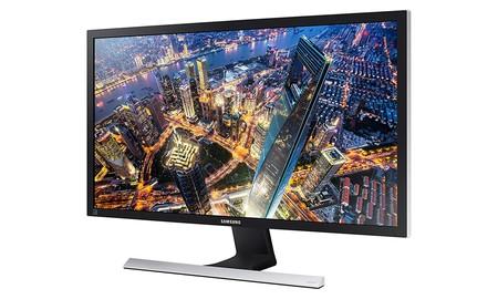 28 pulgadas 4K para tu PC por sólo 219,99 euros: Amazon te deja ahora mismo el Samsung U28E570DS a su precio mínimo hasta la fecha