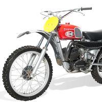 Esta moto de 1971 también fue de Steve McQueen, y también se va a subastar por más de 50.000 dólares