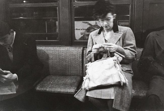 Foto de Stanley Kubrick y el metro de Nueva York (7/10)