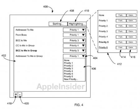 Una patente de Apple quiere automatizar nuestra bandeja de entrada