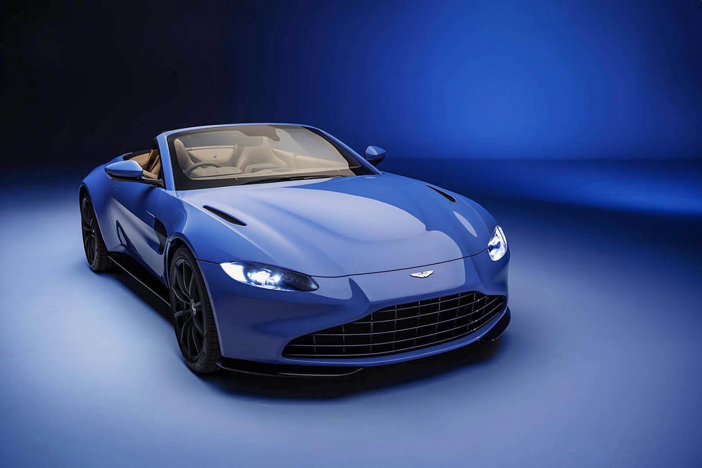 El Nuevo Aston Martin Vantage Roadster Es El Cabrio Con La Capota Mas Rapida Del Mundo