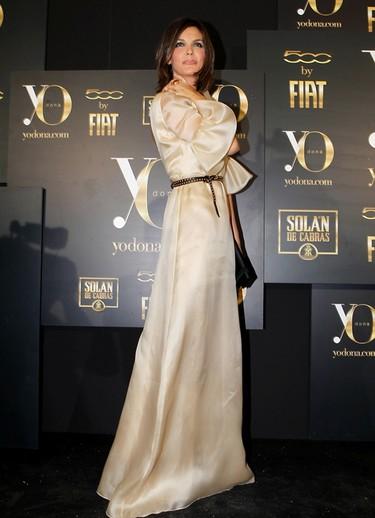 Los premios Yo Dona visten de largo a las famosas españolas