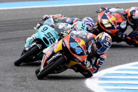 Miguel Oliveira Danny Kent Brad Binder Moto3 2015