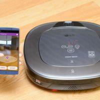 Con la cámara de nuestro smartphone podremos darle instrucciones a esta aspiradora de LG