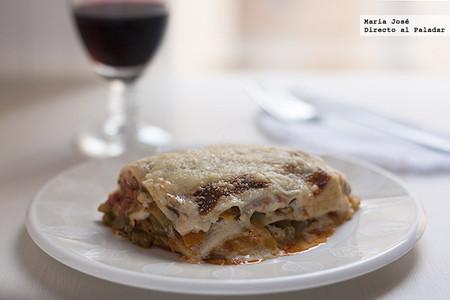 Lasaña de hortalizas, receta vegetariana para disfrutar de la pasta