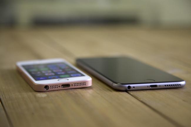 iPhone SE y iPhone 6s