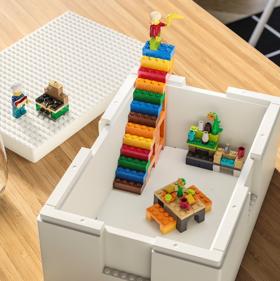 Juego y almacenaje, la nueva solución divertida de Ikea y Lego