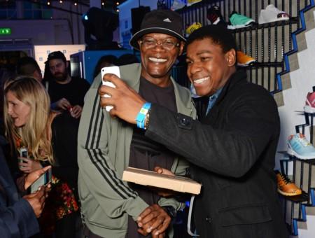 Samuel L. Jackson y John Boyega