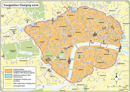 Londres Congestion Charging Zone