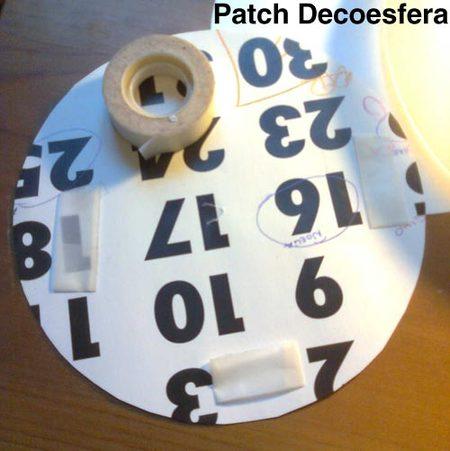 Usad cinta adhesiva de doble cara.