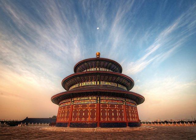 El Parque y el Templo del Cielo, en Beijing