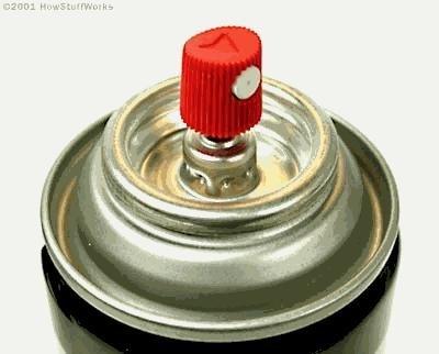 ¿Cuánta presión hay en el interior de un bote de aerosol?