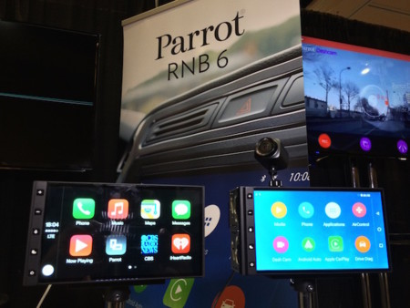 ¿Apple CarPlay o Android Auto? basta de elecciones, Parrot incorpora ambos en un dispositivo
