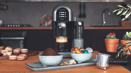 Esta cafetera semiautomática Cecotec funciona tanto con cápsulas como con café molido y tiene 30 euros de descuento hoy en eBay