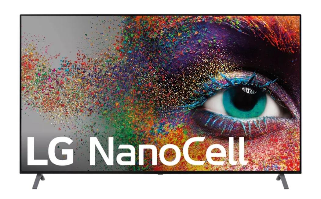 LG 55NANO906NA, UHD 4K, 3840 x 2160 píxeles, α7 Gen3, Smart TV, HDR, Dolby Atmos, Negro