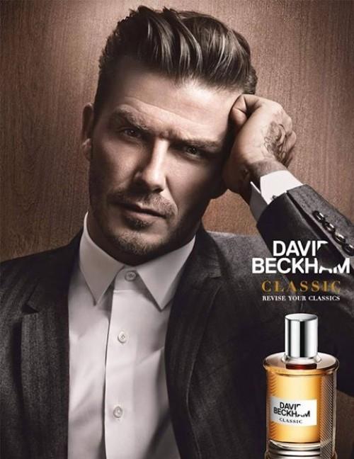 Ya podemos oler como David Beckham, otro famoso más con fragancia