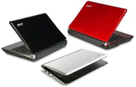 Acer Aspire One de 10 pulgadas, datos de los modelos en España