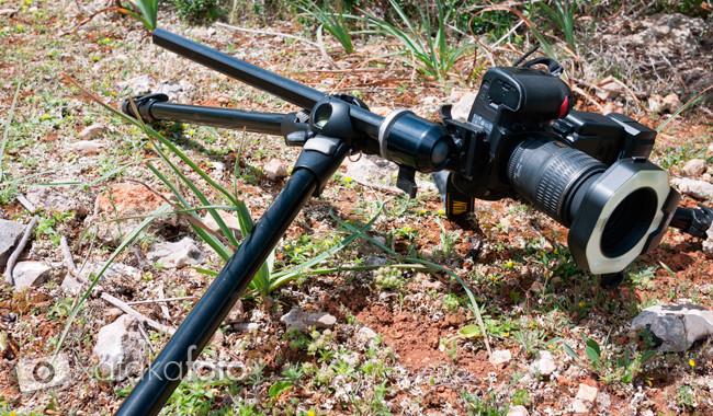 tripode para fotografia macro