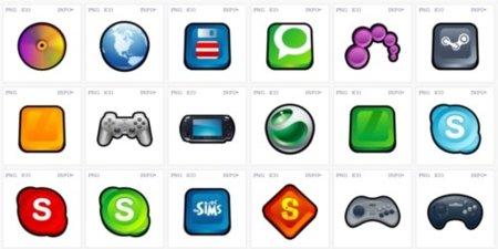 Mr icons iconos