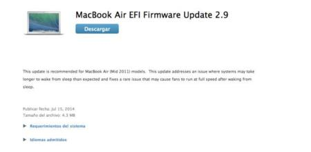 ¡Aleluya! Apple corrige el error de reposo de los Macbook Air de 2011