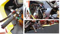 Ese pequeño detalle de la moto de Ian Hutchinson