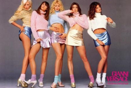 Cindy Crawford Gianni Versace Retiro Pasarelas Modelo 2