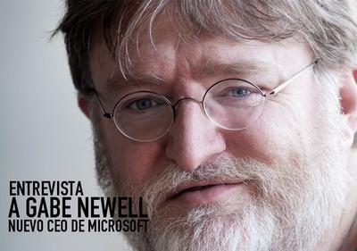 Entrevistamos en exclusiva a Gabe Newell, nuevo CEO de Microsoft