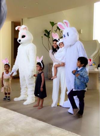 La Semana Santa del Klan Kardashian merece mención separada