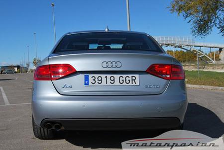 Audi A4 TDI Multitronic, prueba (parte 4)