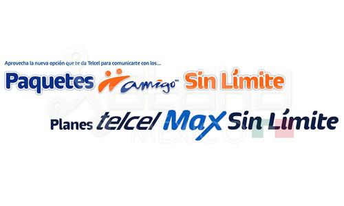 'Planes Max Sin Límite' y 'Paquetes Amigo Sin Límite': Telcel ahora sí quiere competir