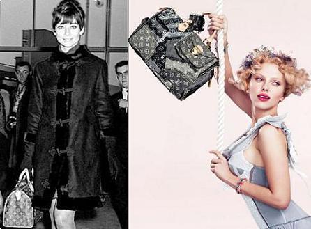 Louis Vuitton: de Audrey Hepburn a Scarlett Johansson