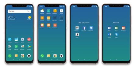 Xiaomi Mi 8 Pro Apps Fabrica