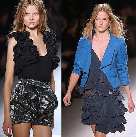 Isabel Marant en la Semana de la Moda de Paris Primavera-Verano 2009