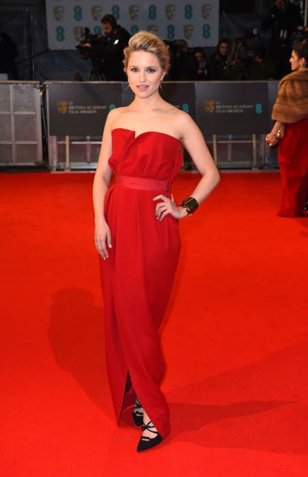 Dianna Agron Bafta 2015 Lanvin