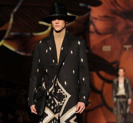 Etro Otoño-Invierno 2012/2013 en la Semana de la Moda de Milán fw 12 13